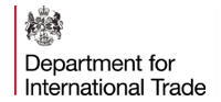 Departament for international Trade